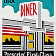 The American Diner  Art Print