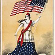 The American Flag A New National Lyric Art Print