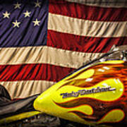 The American Ride Art Print