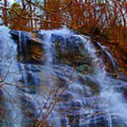 The Amicalola Waterfall Art Print