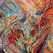 The Anemon Flowers Art Print