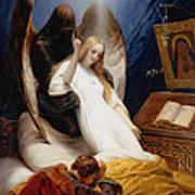The Angel Of Death Art Print