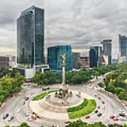 The Angel Of Independence, Mexico City Art Print