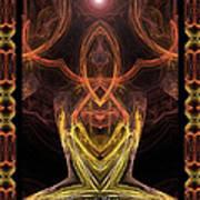 The Angel Of Meditation Art Print