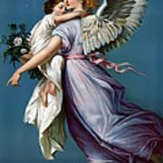The Angel Of Peace Art Print