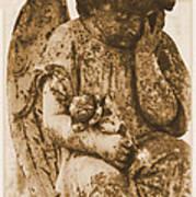 The Angel Virginia Art Print