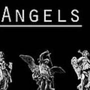 The Angels Of Rome Art Print