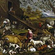 The Animals Entering Noah's Ark Art Print