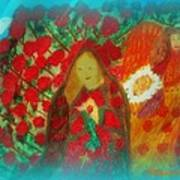 The Annunciation Art Print by Maryann  DAmico