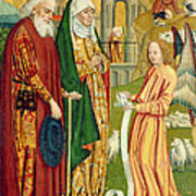 The Annunciation To Joachim And Anne, From The Dome Altar, 1499 Art Print