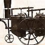 The Antique Farming Machine  Art Print