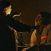 The Appearance Of The Angel To Saint Joseph Art Print