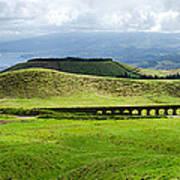 The Aqueduct Panoramic Art Print