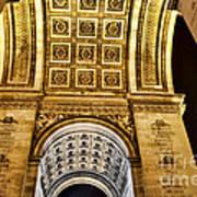 The Arc De Triomphe Art Print