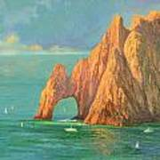 The Arch Of Cabo San Lucas 2 Art Print