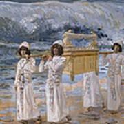 The Ark Passes Over The Jordan Art Print by James Tissot