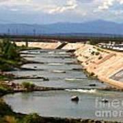 The Arkansas River And Pike's Peak Art Print