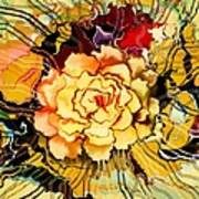 The Art Garden Art Print by Hilda Lechuga