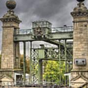 The Art Nouveau Ships Elevator - Portal View Art Print