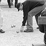 The Art Of Boules  Art Print