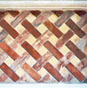 The Art Of Brick Weaving  Art Print