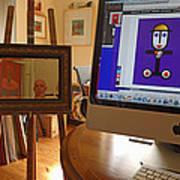 The Artist In His Studio Art Print