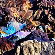 The Artists Palette Death Valley Art Print