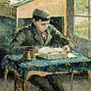 The Artists Son Art Print by Camille Pissarro