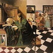The Astrologer In The Golden Ratio Art Print