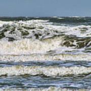 The Atlantic Ocean At Sullivan's Island Art Print