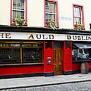 The Auld Dubliner  Art Print