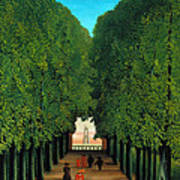 The Avenue In The Park At Saint Cloud    Art Print