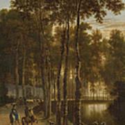 The Avenue Of Birches Art Print