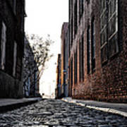 The Back Alley Art Print