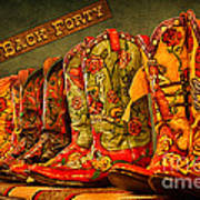 The Back Forty Boots Are Made For Dancin' Art Print