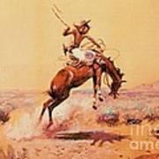 The Bad One - Southwestern Art Print