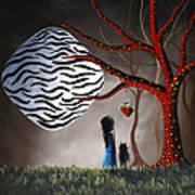 The Bait By Shawna Erback Art Print by Shawna Erback