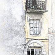 The Balcony Scene II Art Print