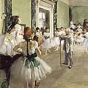 The Ballet Class Art Print