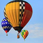 The Balloons Art Print