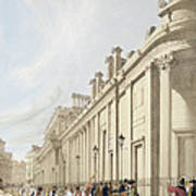 The Bank Of England Looking Towards Art Print