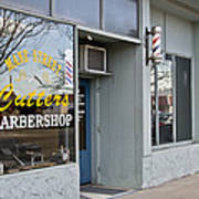 The Barber Shop 3 Art Print