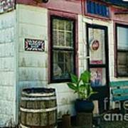 The Barber Shop From A Different Era Art Print by Paul Ward