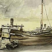 The Barge Art Print