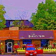The Barley Mow Pub Urban Eatery Old Ottawa The Glebe British Irish Restaurant Ottawa Scenes Cspandau Art Print