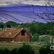 The Barn Art Print by Robert Bales