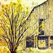 The Barn Where... Art Print