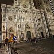 The Basilica Di Santa Maria Del Fiore  Art Print