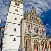 The Basilica In Mary Of Bistrica Art Print