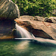 The Basin At Franconia Notch State Park Nh Art Print